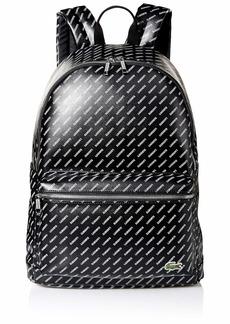 Lacoste Tall Plus Men's LVE Backpack Allover Black