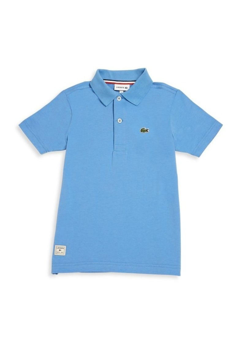 Lacoste Toddler's, Little Boy's & Boy's Jersey Polo