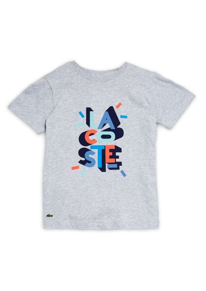 Lacoste Toddler's, Little Boy's & Boy's Logo Graphic Tee