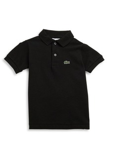 Lacoste Toddler's, Little Boy's & Boy's Short-Sleeve Polo