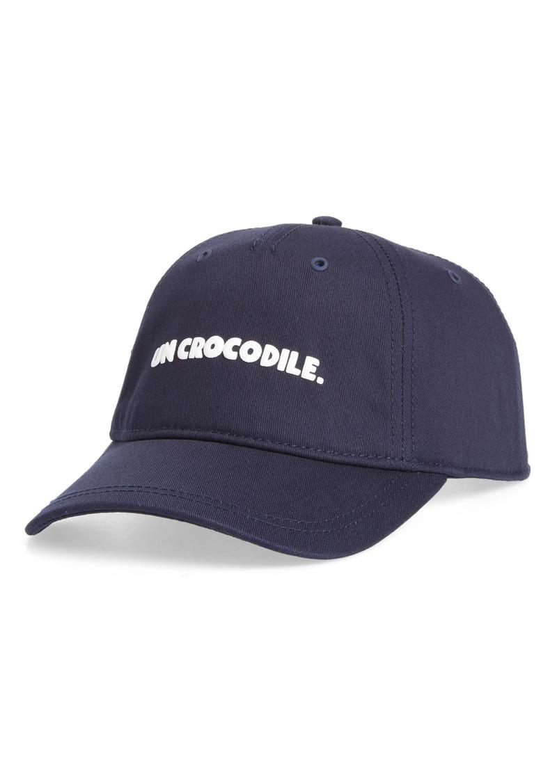 Lacoste Lacoste Un Crocodile Baseball Cap  6e41d292589