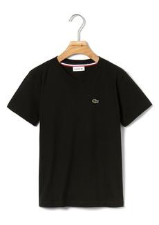 Lacoste V-Neck T-Shirt (Toddler Boys & Little Boys)