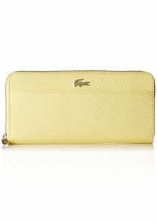 Lacoste Women CHANTACO Large Zip Wallet night blue chine