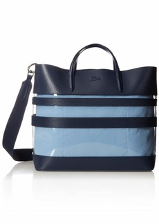 50fc23111a4 On Sale today! Lacoste Lacoste Chantaco Medium Zip Shopping Bag