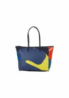 Lacoste Womens All Over Print L.12.12 Large Shopping Tote Bag