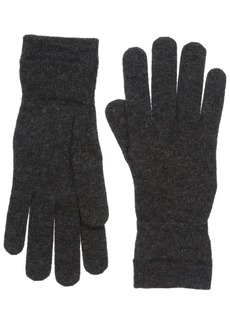 Lacoste Women's Cashmere Gloves patterned graphite