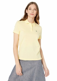 Lacoste Women's Classic FIT Short Sleeve Polo NAPOLITAN Yellow