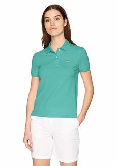 Lacoste Women's Classic Fit Short Sleeve Soft Cotton Petit Piqué Polo BAILLOUX
