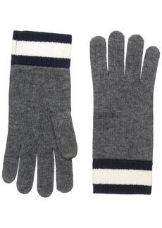 Lacoste Women's Contrast Wrist Jersey Gloves