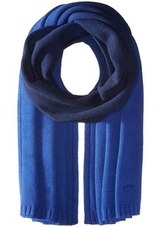 Lacoste Women's Dip Dyed Wool Jersey Knitted Scarf