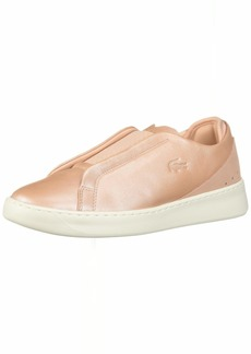 Lacoste Women's EYYLA Sneaker natural/off white  Medium US