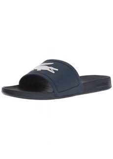 Lacoste Women's FRAISIER Slide Sandal   Medium US