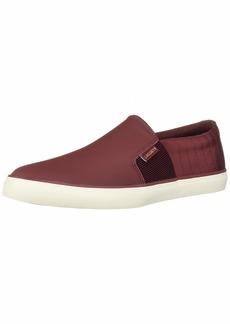 Lacoste Gazon Sneaker Dark red/Off White 9.5 Medium US