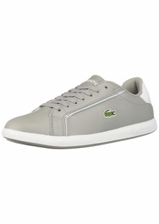 Lacoste Women's Graduate Sneaker grey/white  Medium US