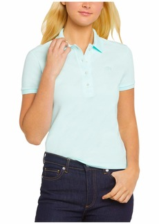 Lacoste Women's Legacy Short Sleeve Slim Fit Stretch Pique Polo Shirt
