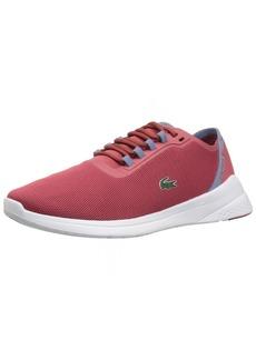 Lacoste Women's LT FIT 11 3 SPW Sneaker red/Light purp  M US
