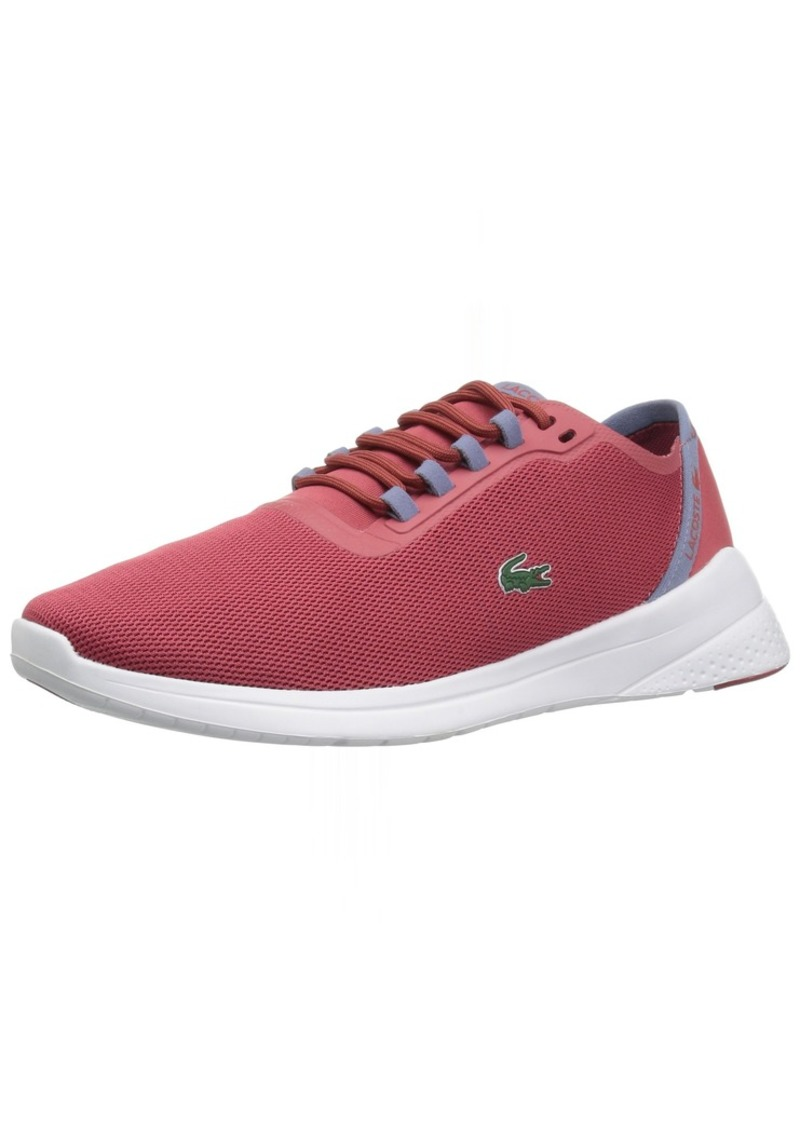 Lacoste Women's LT FIT 11 3 SPW Sneaker red/Light purp  M US
