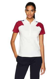 Lacoste Women's Made in France Short Sleeve Noppe Pique Polo
