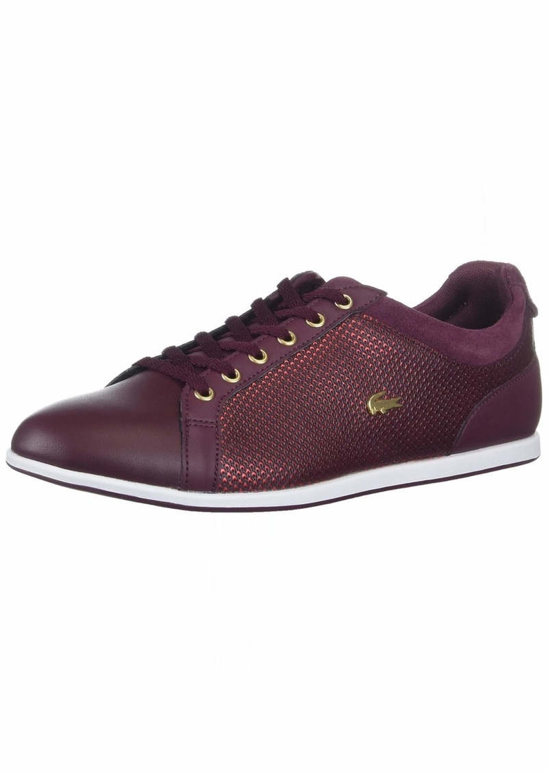 Lacoste Women's Rey 418 1 Sneaker   Medium US