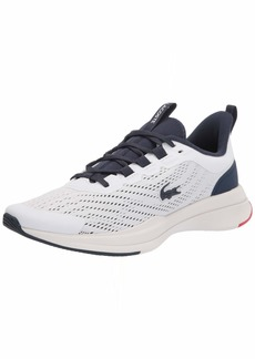 Lacoste Women's Run Spin Sneakers WHT/NVY