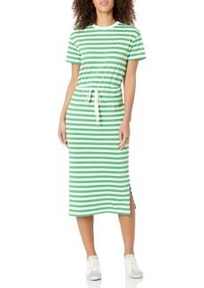 Lacoste Women's Short Sleeve Maxi T-Shirt Dress  S