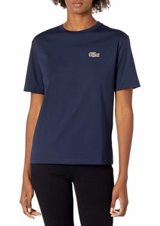 Lacoste Women's Short Sleeve National Geographic Croc T-Shirt