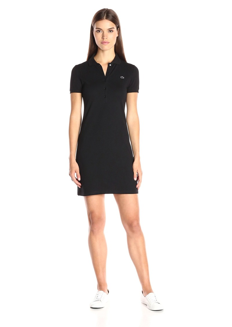 aa09ec59f Lacoste Lacoste Women s Stretch Cotton Short Sleeve Mini Piqué Polo ...