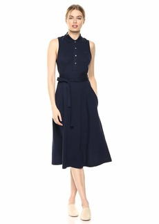 Lacoste Women's S/L Belted Pique Polo Dress