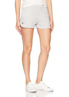Lacoste Women's Sport Fleece Drawstring Tennis Shorts GF1553