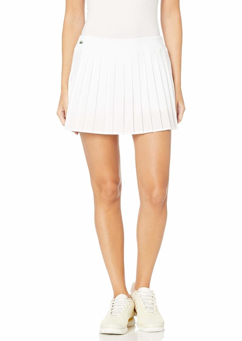 Lacoste Womens Sport Lightweight Technical Pleated Tennis Skirt Tennis Skirt