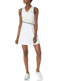 Lacoste Women's Sport Printed Tennis Performance Dress