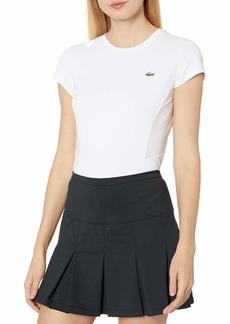Lacoste Women's Sport Short Sleeve Jersey Performance Tennis TEE Shirt