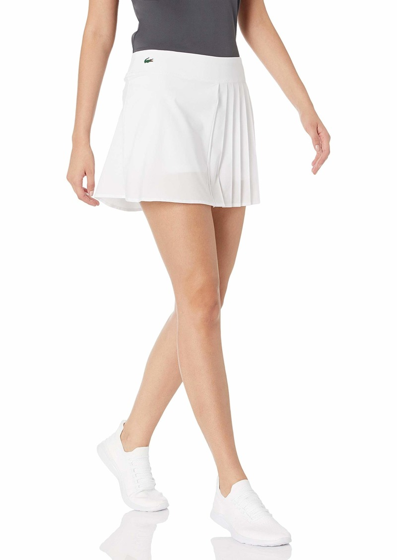 Lacoste Womens Twill Wrap Skirt