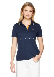 Lacoste Women's Sport Ultra Dry Tennis Polo with Grommets Pf320