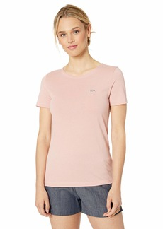 68d573a3b Lacoste Lacoste Women's Short Sleeve Classic Supple Jersey V-Neck T ...