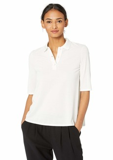 Lacoste Women's S/S Pleated Back Polo
