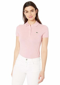 Lacoste Women's S/S Slim FIT Keith Haring SEMI Fancy Polo CEMBRA Chine
