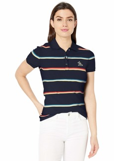 Lacoste Women's S/S Ultra Slim FIT Striped Polo