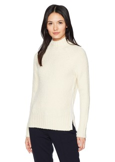 Lacoste Women's Terry Heavy Sweater with Zip on The Side