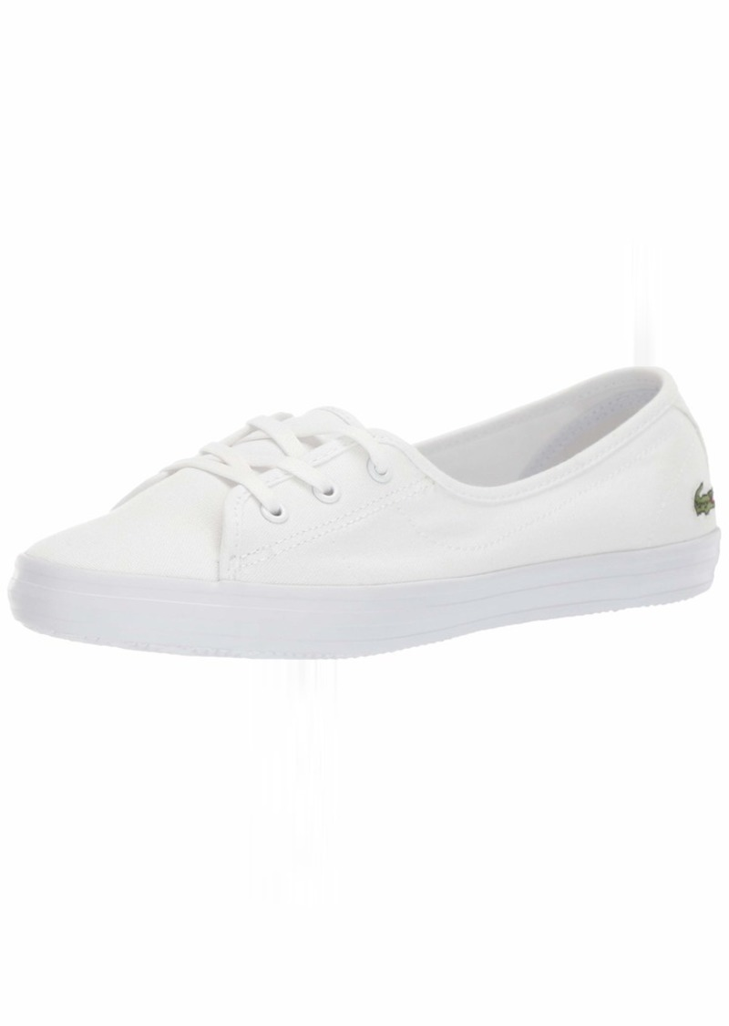 Lacoste Women's Ziane Sneaker White 5 Medium US