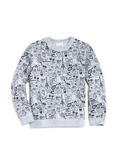 Lacoste x Omy Boys' Graphic Sweatshirt - Little Kid, Big Kid