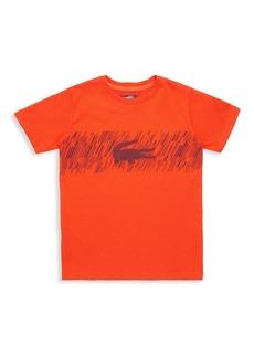 Lacoste Little Boy's & Boy's Alligator Logo Tee