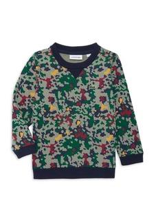 Lacoste Little Boy's & Boy's Camo Sweatshirt