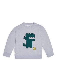 Lacoste Little Boy's & Boy's Cartoon Croc Sweatshirt