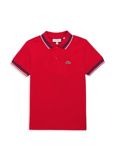 Lacoste Little Boy's & Boy's Classic Semi-Fancy Polo