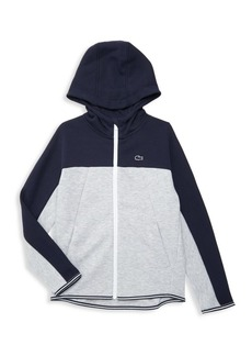 Lacoste Little Boy's & Boy's Colorblock Zip-Front Hoodie