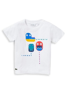 Lacoste Little Boy's & Boy's Game Print T-Shirt