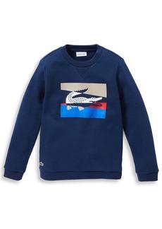 Lacoste Little Boy's & Boy's Graphic Sweatshirt