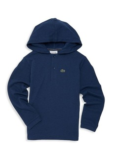 Lacoste Little Boy's & Boy's Hooded Polo Shirt