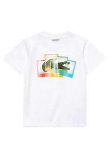 Little Boy's & Boy's Lacoste x Polaroid Boy's Print Cotton T-Shirt